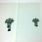 Masters  of the Universe Filmation  marching Horde Trooper Artwork used in #82 attack from below